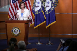 Speaker of the House of Representative nancy Pelosi announces committee to investigate January 6th