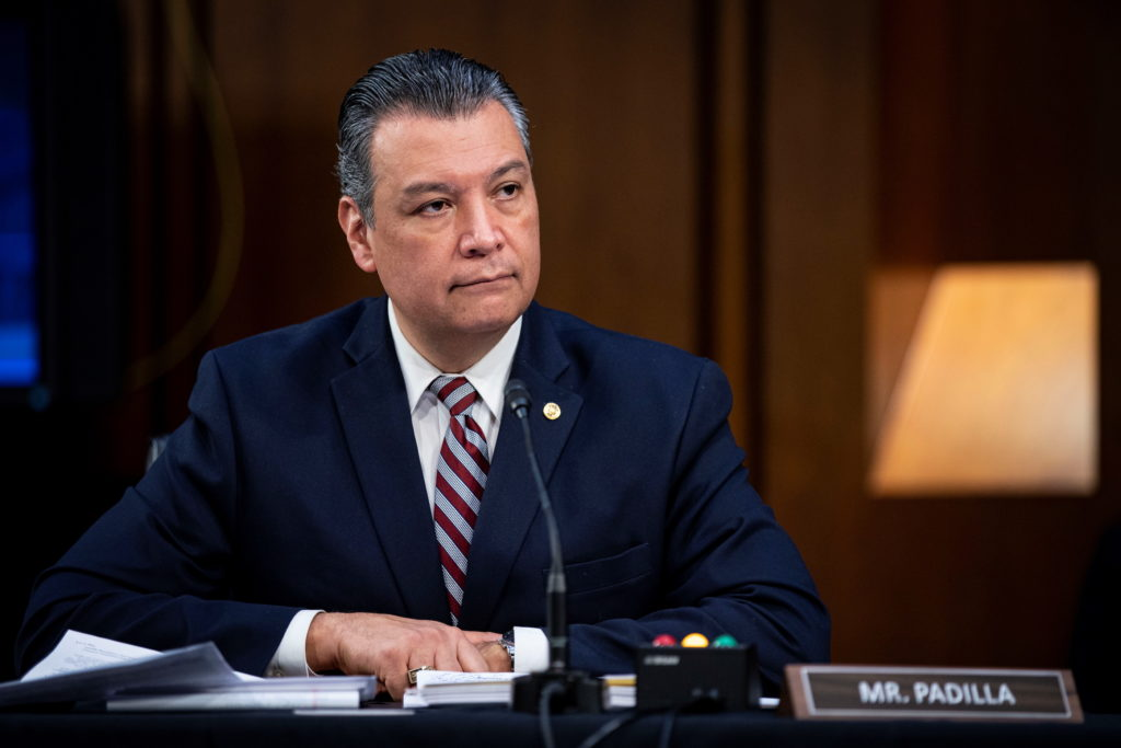 Democrats 'another step closer' to reforming filibuster, Sen. Padilla says