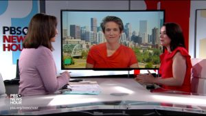Amy Walter and Tamars Keith discuss political news with PBS NewsHour host Amna Nawaz