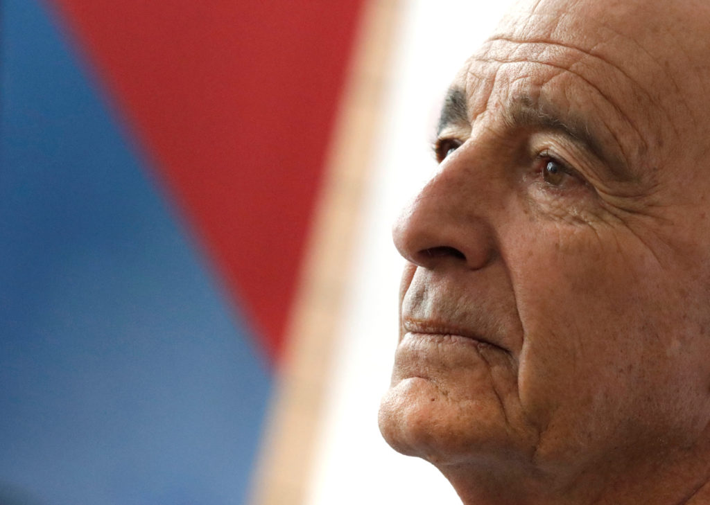 Billionaire real estate investor Thomas Barrack holds a meeting to discuss investment plans in Mexico and Latin America in...