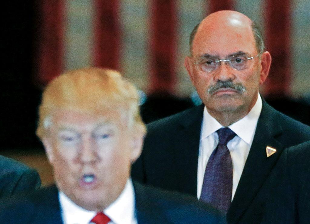 FILE PHOTO: Trump Organization chief financial officer Allen Weisselberg