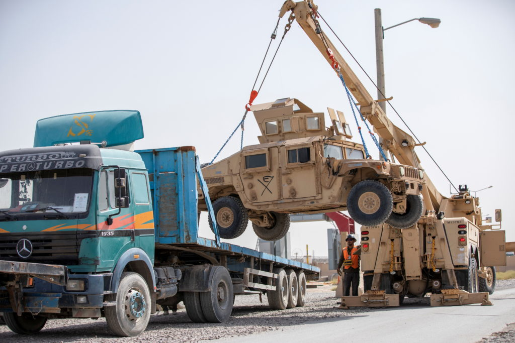 U.S. forces prepare for withdrawl from Afghanistan