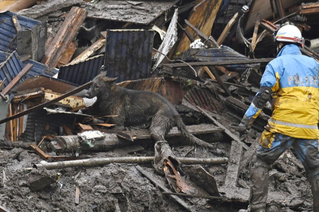 Mudslide in Atami