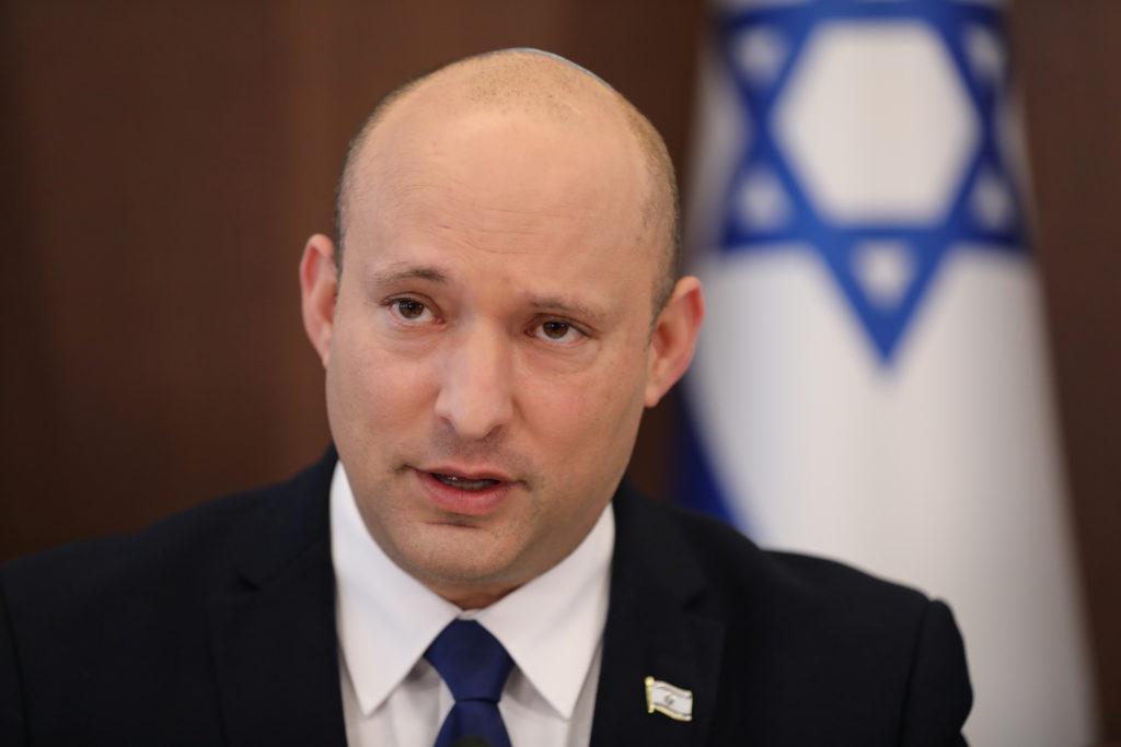 Israeli PM Bennett convenes weekly cabinet meeting in Jerusalem