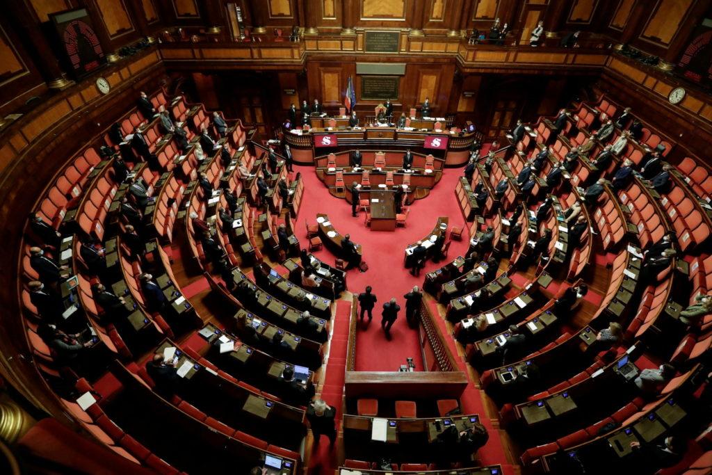 FILE PHOTO: Italian FM Di Maio's address on killing of ambassador