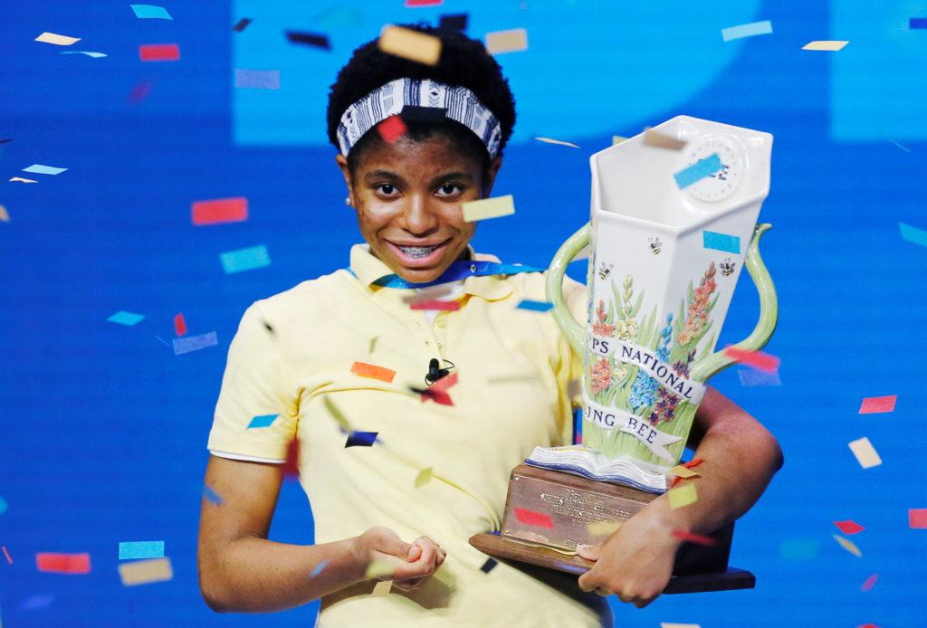 Keke Palmer Celebrates 'Real Life Akeelah' Spelling Bee Champion Zaila Avant-garde