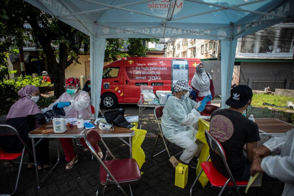 The coronavirus disease (COVID-19) pandemic, in Jakarta