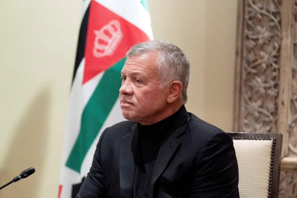 FILE PHOTO: Jordan's King Abdullah II listens during a meeting in Amman, Jordan