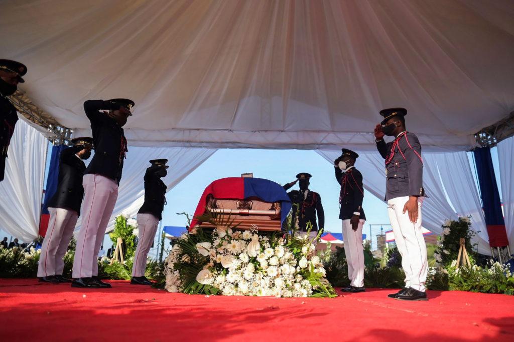 Haiti holds funeral for assassinated Presidente Jovenel Moise in Cap-Haitien