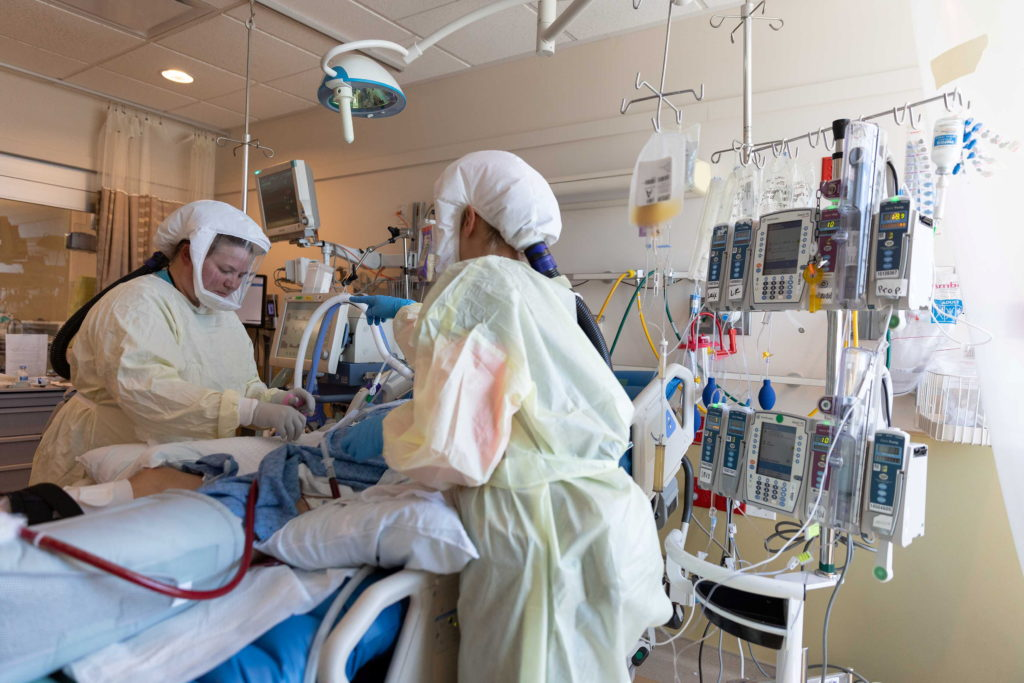 COVID patients swell ICUs, providers face burnout as Utah cases rise