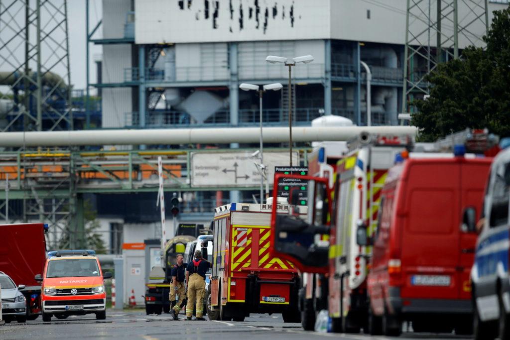 Explosion at Chempark in Leverkusen
