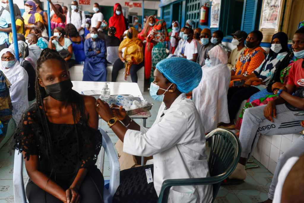 Amid a surge of coronavirus disease (COVID-19) cases in Senegal