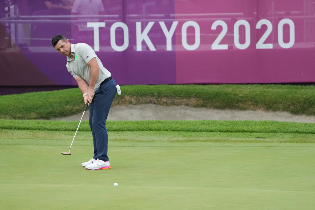 Olympics: Golf-Mens Individual Round 1