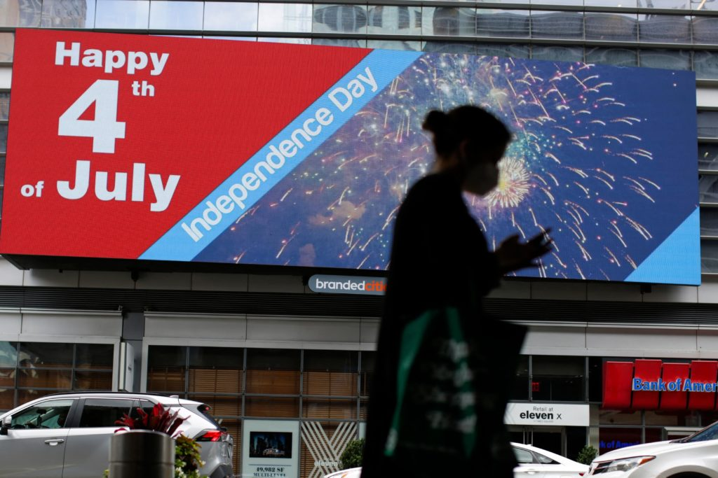 US-LIFESTYLE-HOLIDAY-INDEPENDENCE DAY