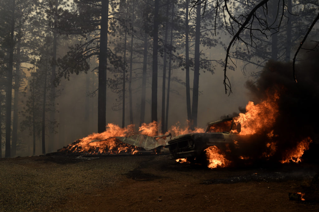 California wildfire continues