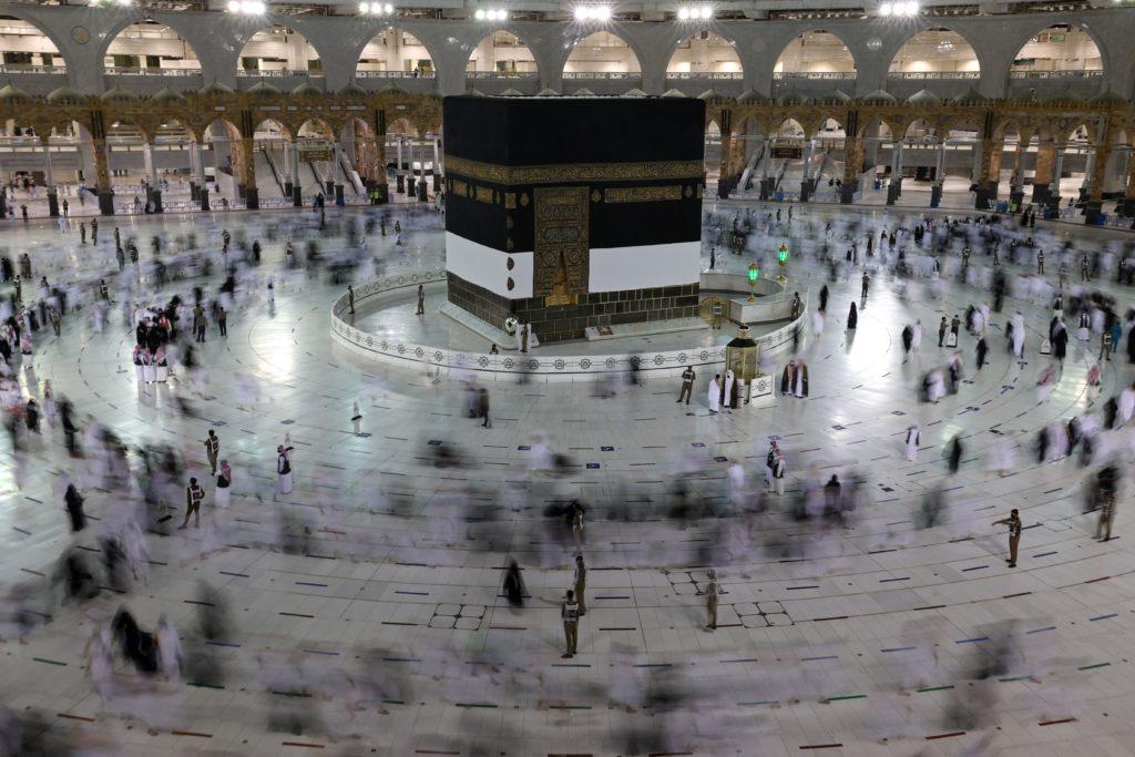 SAUDI-HEALTH-VIRUS-RELIGION-ISLAM-HAJJ