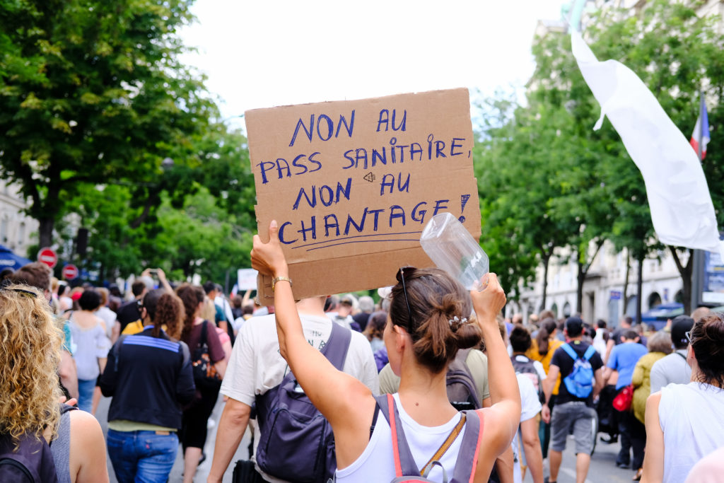 Anti-government Demonstration In Paris