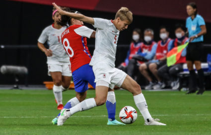 Chile v Canada: Women's Football - Olympics: Day 1