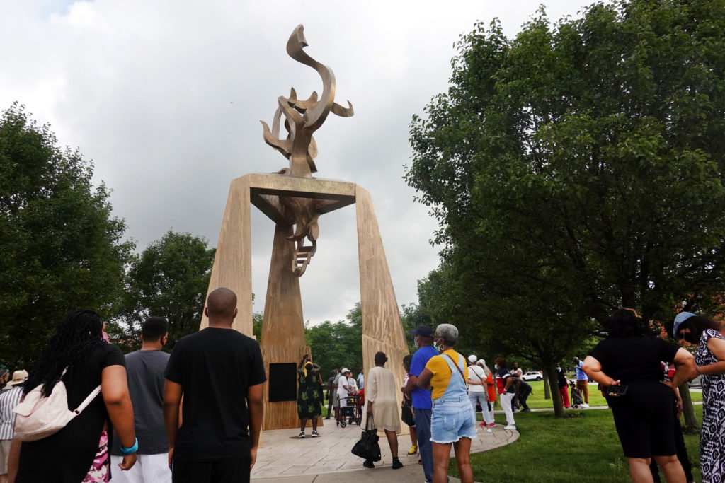 Chicago Unveils Ida B. Wells Monument