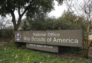 The Boy Scouts of America headquarters in Irving