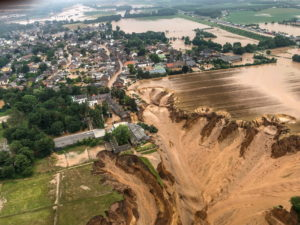 Flooding at Erftstadt-Blessem