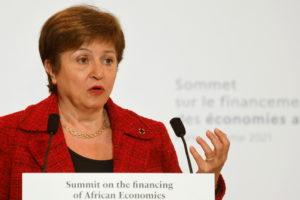 FILE PHOTO: Financing of African Economies summit in Paris