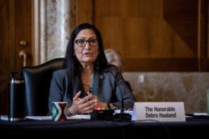 FILE PHOTO: U.S. Senate panel holds hearing on interior secretary nominee