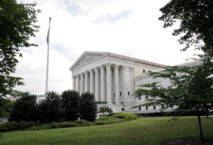 General view of the U.S. Supreme Court building in Washington