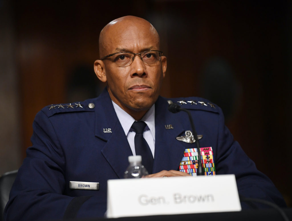 Senate Armed Services Nomination hearing for Braithwaite, Anderson and Brown in Washington, DC