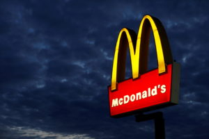 FILE PHOTO: A McDonald's restaurant is pictured in Encinitas, California