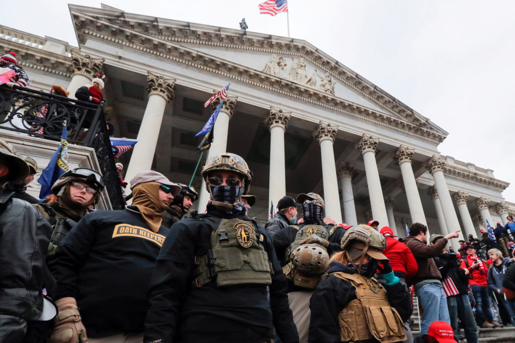 FILE PHOTO: Prosecutors say Oath Keepers militia members conspired in U.S. Capitol siege