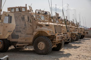 U.S. forces prepare withdrawl in Kandahar