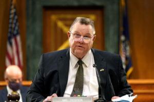 Secretary of Veterans Affairs nominee Denis McDonough's confirmation hearing in Washington