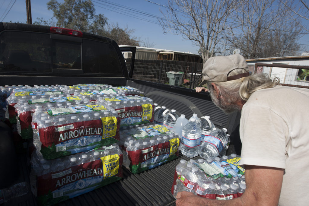 Drought Stricken Town Of East Porterville Deals With Severe Water Shortage