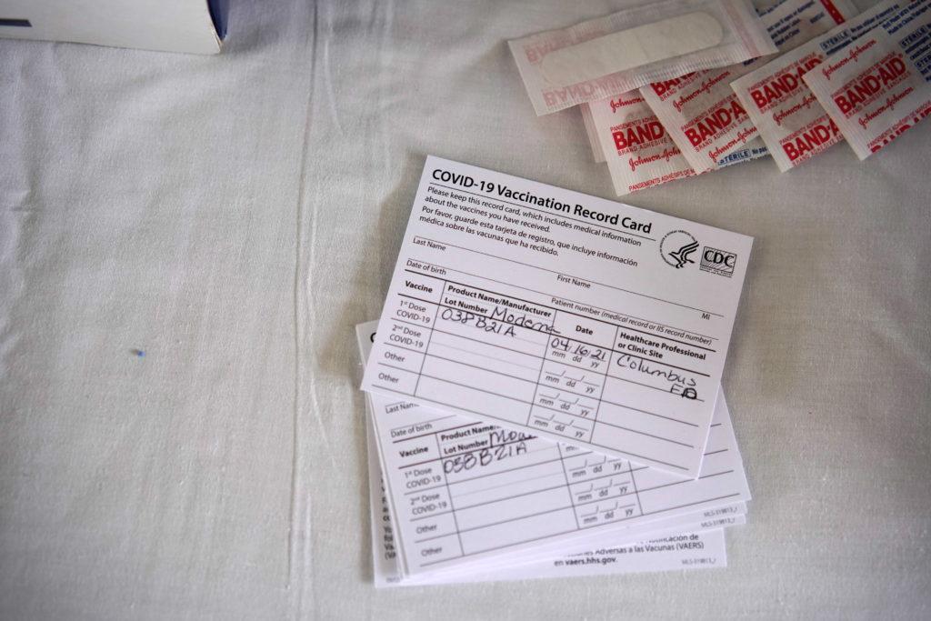Rural vaccine center in New Mexico