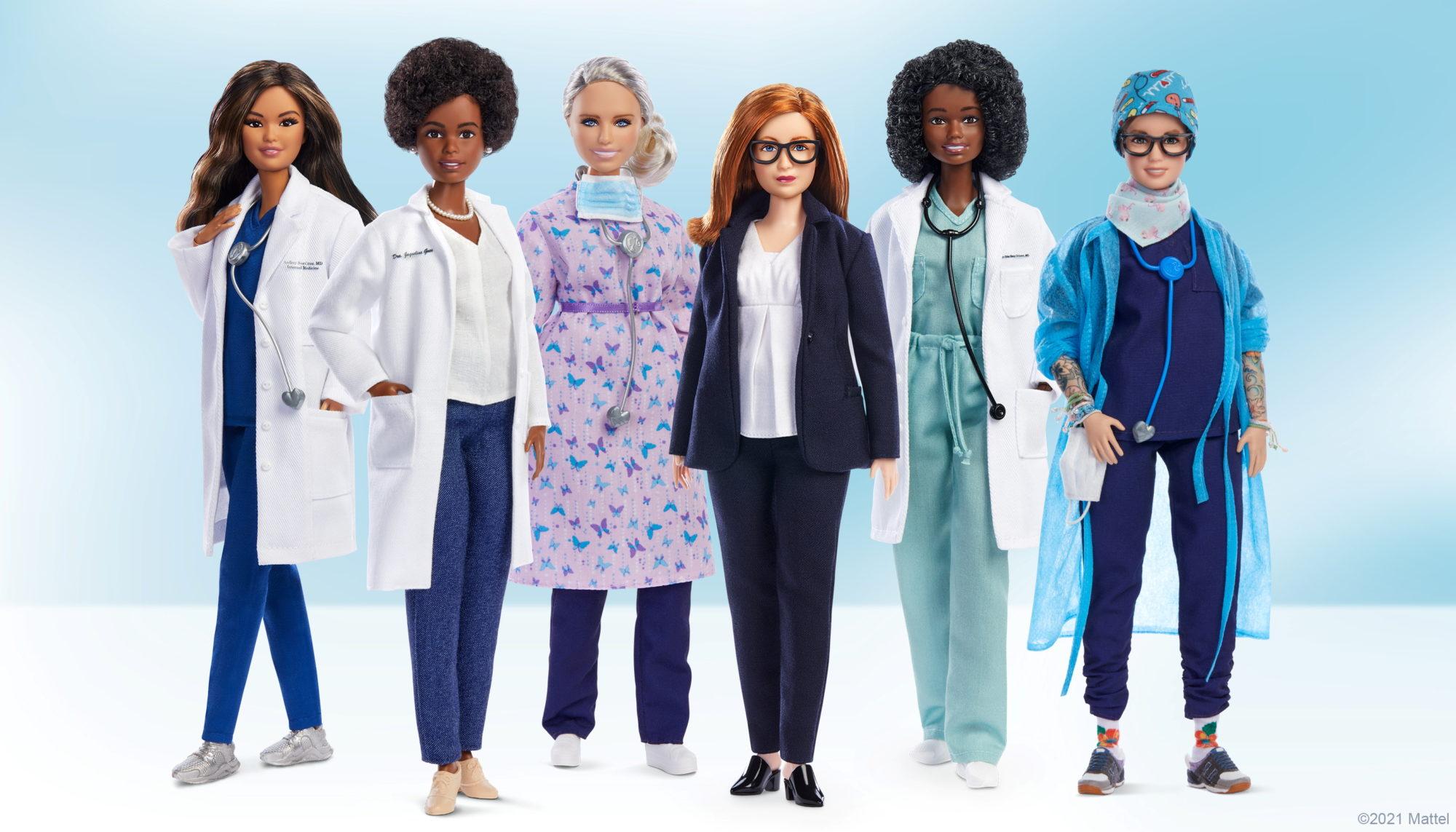 Oxford vaccine developer Gilbert has Barbie doll made in her likeness