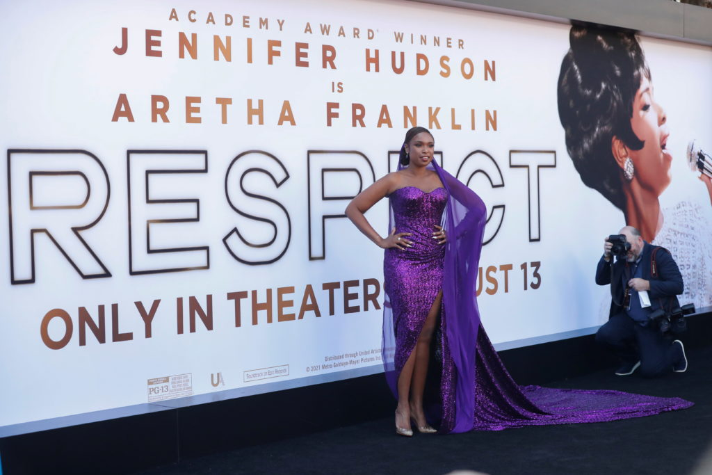 """The premiere for the film """"Respect"""" in Los Angeles"""
