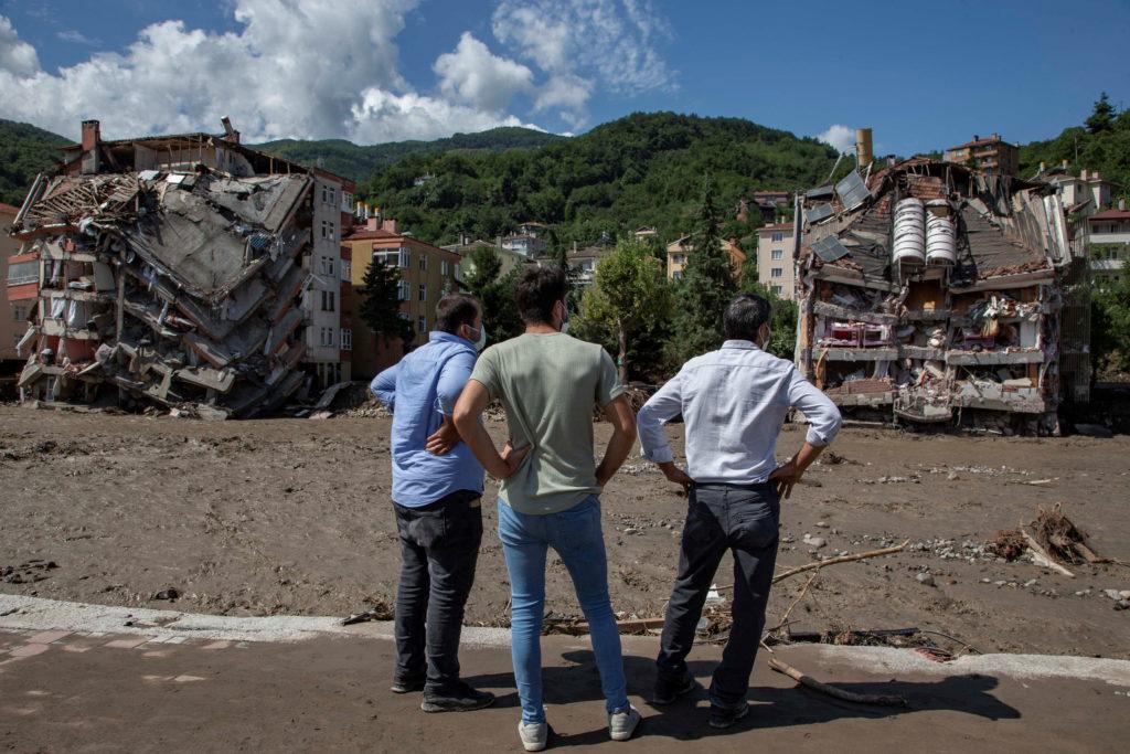 Heavy floods hit Turkey