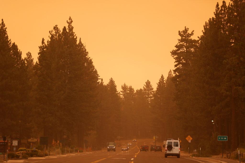 Caldor Fire in South Lake Tahoe