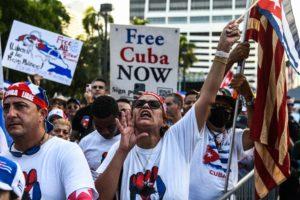US-CUBA-PROTEST-POLITICS-UNREST