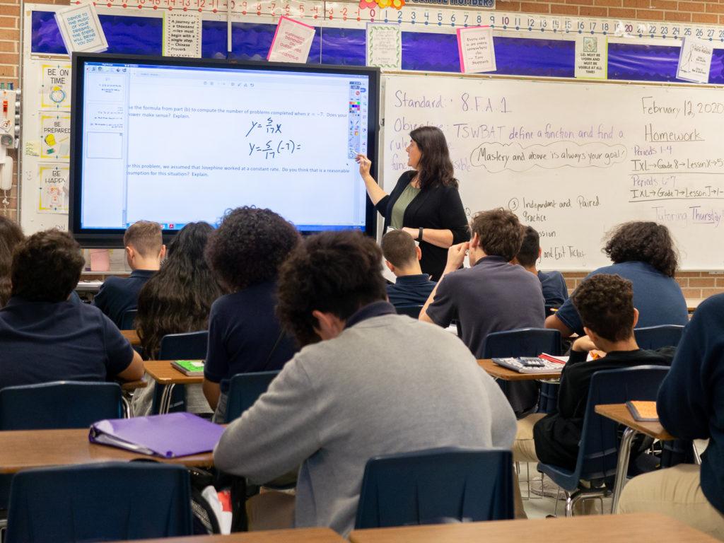 Danita Brown, 7th grade Algebra