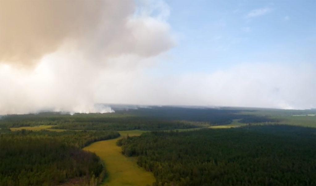 Wildfires in Yakutia, Russia
