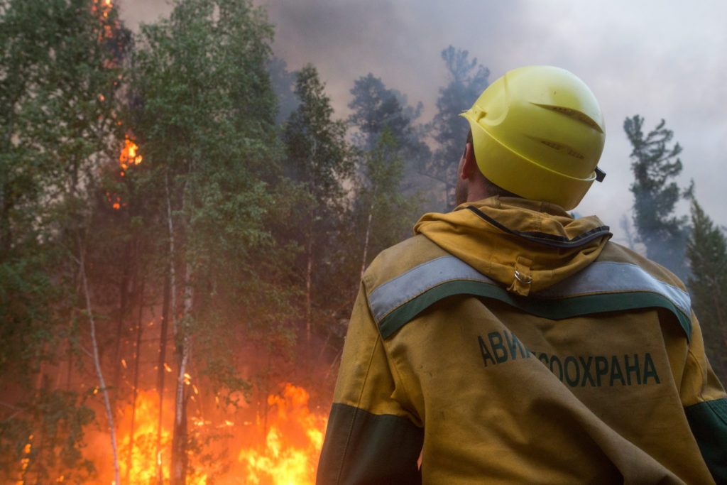 Wildfires in Russia's Sakha Republic