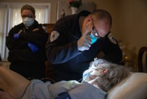 EMS Medics Treat And Transport Covid-19 Patients In Westchester County As Pandemic Surges Nationwide