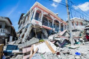 FILE PHOTO: Hundreds killed in magnitude 7.2 quake in Haiti