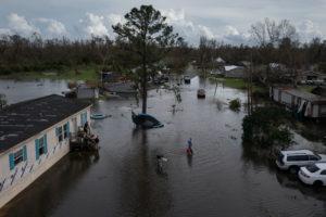 Aftermath of Hurricane Ida in Louisiana