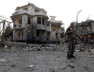 Car bomb blast in Kabul