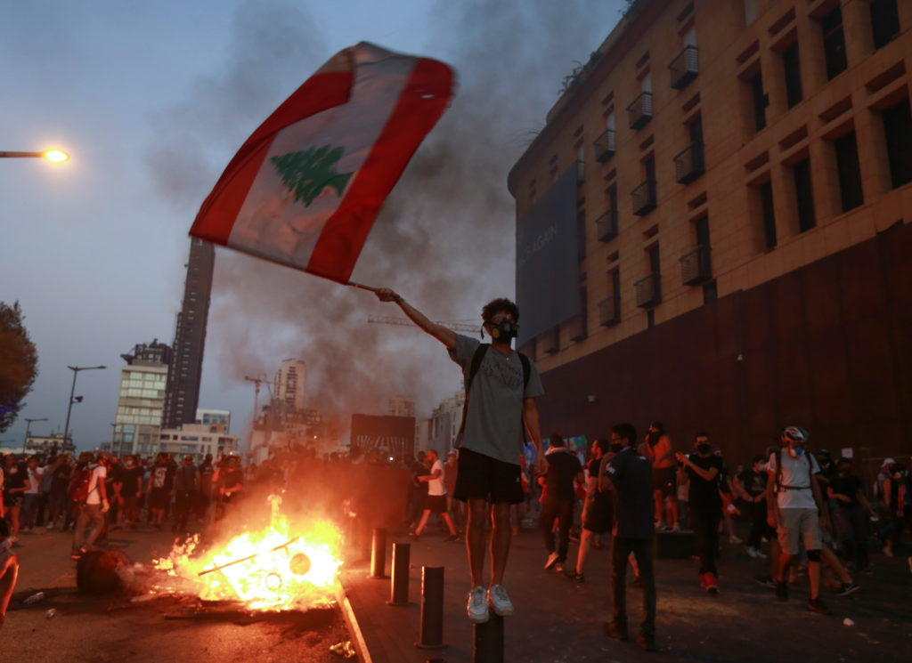 Lebanon marks the one-year anniversary of Beirut port explosion