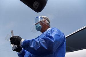 Cases of COVID-19 surge in Louisiana