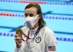 Olympics: Swimming-July 31